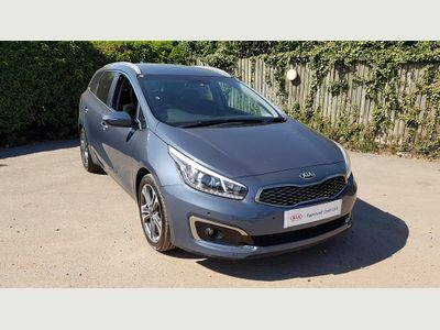 KIA Cee'D Sportswagon 1.6 CRDi 3 5dr Satellite Navigation, Rear Par