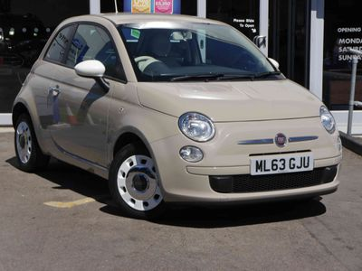 Fiat 500 0.9 TwinAir Colour Therapy 3 door £0 Tax, MP3 CD Player