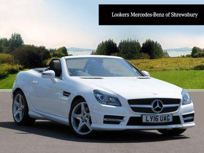 Mercedes-Benz SLK 250d AMG Sport 2dr Tip Auto 2.2 AMG SPORT*BLACK LEATHER