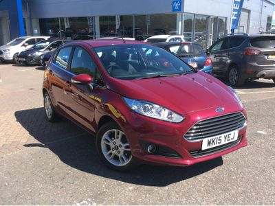 Ford Fiesta 1.25 82 Zetec 5dr CITY PACK - REAR PARKING SENSO