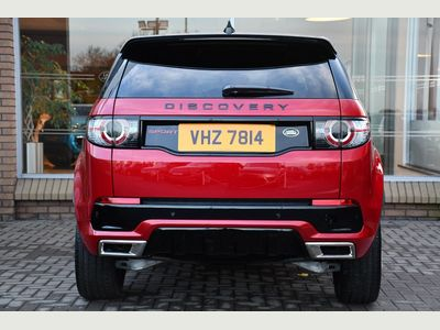 Land Rover Discovery Sport 2.0 TD4 180 HSE Dynamic Lux 5dr Auto Black Headlining Privacy Glass