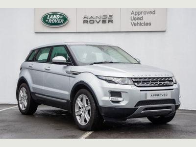 Land Rover Range Rover Evoque 2.2 SD4 Pure 5dr Auto [9] [Tech Pack] SATNAV, LEATHER, PARK SENSORS