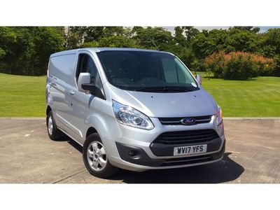 Ford Transit Custom 290 Swb Diesel Fwd 2.0 Tdci 130Ps Low Roof Limited Van +++JUST REDUCED+++