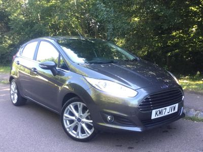 Ford Fiesta 1.0 EcoBoost 125 Titanium X 5dr FULL LEATHER - SAT NAV