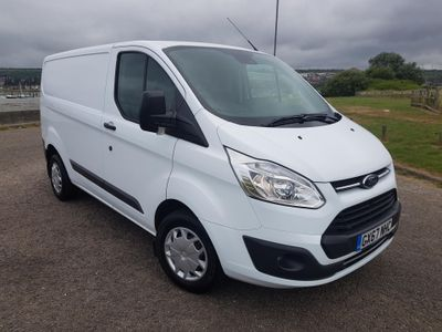 Ford Transit Custom 2.0 TDCi 105ps L1 H1 Trend Van Parking sensors & Ply-lined
