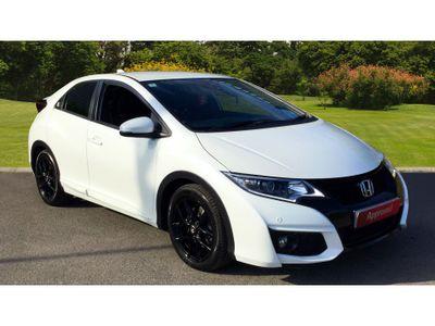 Honda Civic 1.6 I-Dtec Sport 5Dr Diesel Hatchback Full Service History.