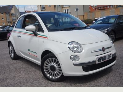 Fiat 500 1.2 Lounge (Start Stop) 3dr LOW MILEAGE - BLUETOOTH