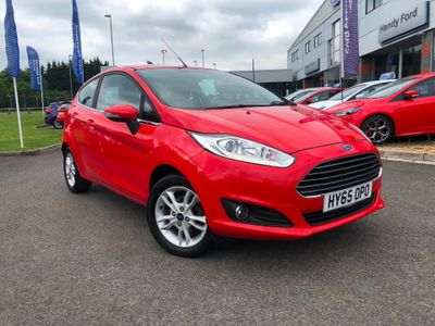 Ford Fiesta 1.25 ZETEC 3DR 82PS LOW MILEAGE - AIR CONDITIONING