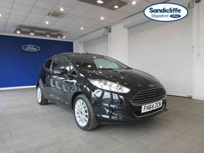 Ford Fiesta 1.0 EcoBoost Titanium X 3 door FULL HISTORY DAB REAR CAMERA