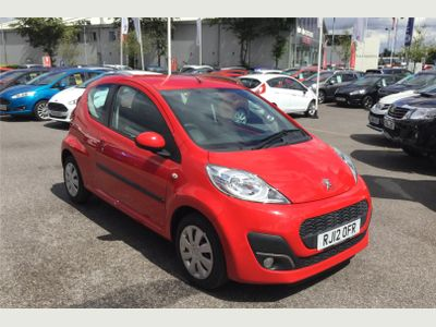 Peugeot 107 HATCHBACK 1.0 Active 3dr CD PLAYER