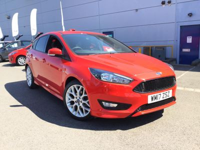 Ford Focus 1.0 EcoBoost 125 ST-Line 5dr PRIVACY GLASS - SYNC3 SATELLIT