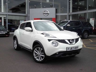 Nissan Juke 1.2 DiG-T N-Connecta 5 door **£400 DEPOSIT CONTIBUTION**