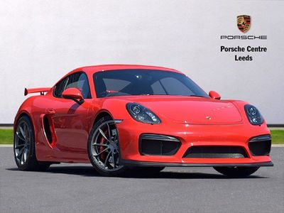 Porsche Cayman GT4 2dr Manual DAB / Cruise / Bucket Seats