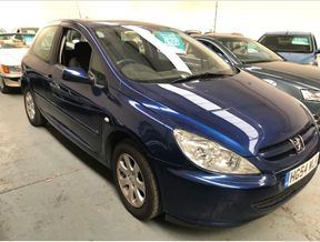 Blue Peugeot 307 used cars for sale on Auto Trader UK