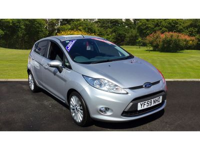 Ford Fiesta 1.4 Titanium 5Dr Petrol Hatchback High specification