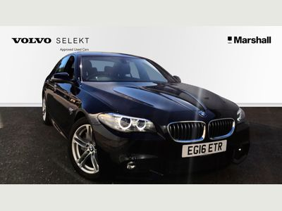 BMW 5 Series 530d M Sport 4dr Step Auto 3.0 SAT NAV+FULL LEATHER+PARK AID