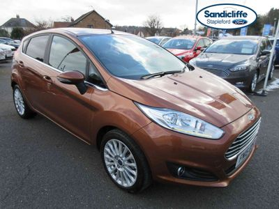 Ford Fiesta 1.6 Titanium 5 door Powershift 1 OWNER FULL SERVICE HISTORY