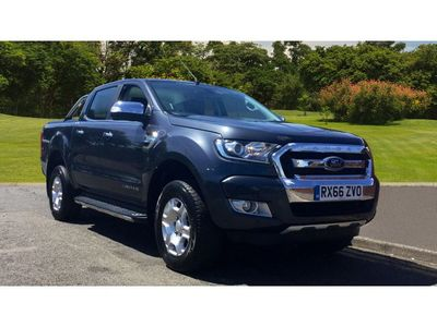 Ford Ranger Diesel Pick Up Double Cab Limited 2 2.2 Tdci Auto Sat Nav and Rear Camera
