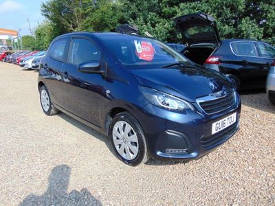 Peugeot 108 1.0 Active 5dr DAB & MUSIC STREAMING, B.TOOTH
