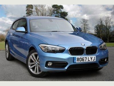 BMW 1 Series 118i Sport 3-door 1.5 3dr PRE REGISTERED VEHICLE