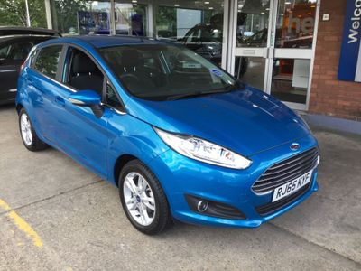 Ford Fiesta 1.2 ZETEC HATCHBACK 5door PETROL MANUAL 122 g/km 81.0 bhp