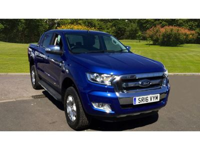 Ford Ranger Diesel Pick Up Double Cab Limited 2 2.2 Tdci +++NEW SHAPE+++