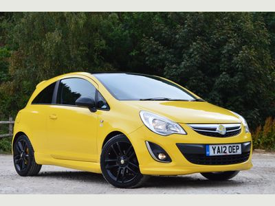 Vauxhall Corsa 1.3 CDTi ecoFLEX Limited Edition 3dr £20 TAX - PRIVACY - GREAT MPG