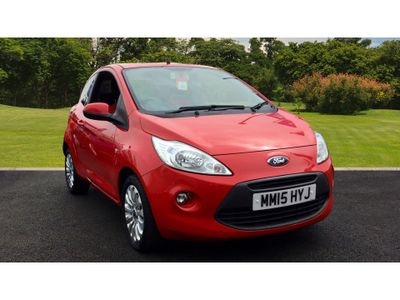 Ford KA 1.2 Zetec 3Dr [start Stop] Petrol Hatchback LOVELY FIRST CAR