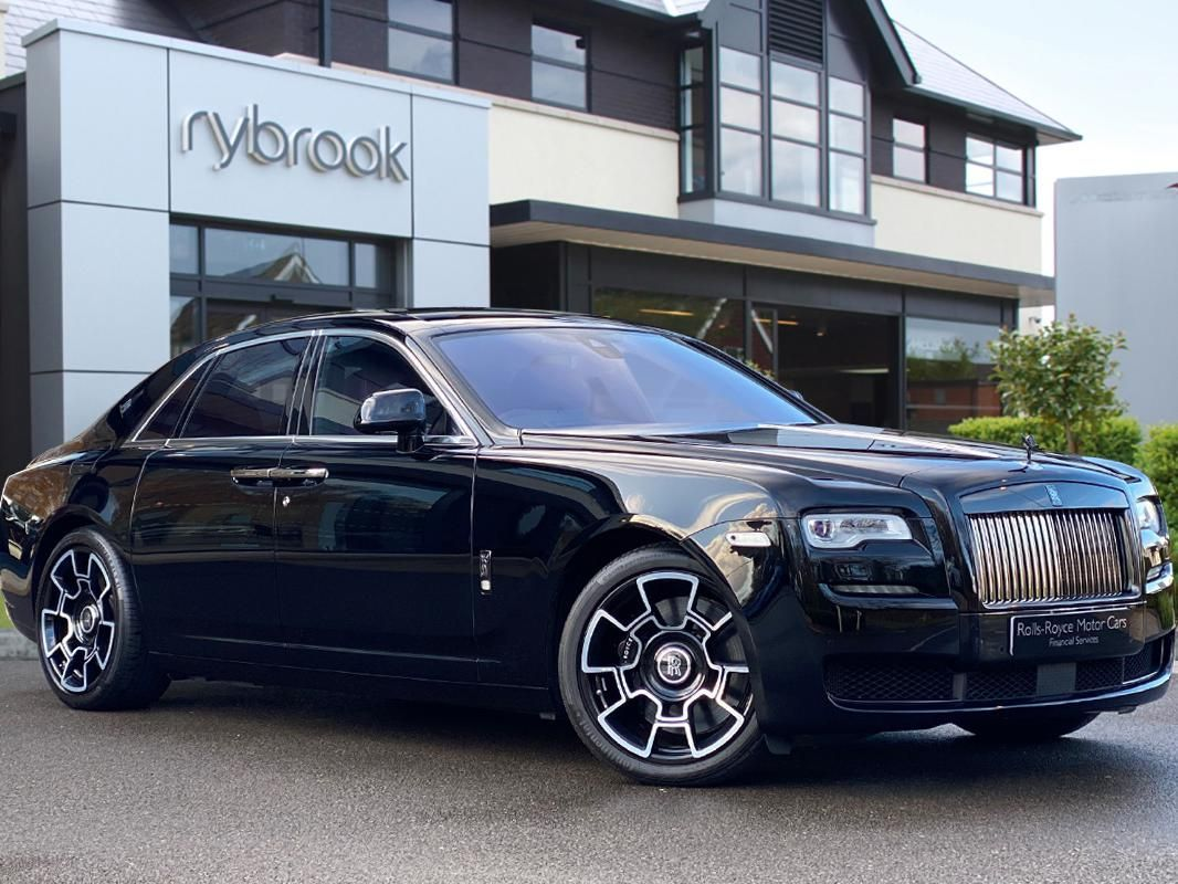 Rolls-Royce Ghost 6.6 V12 Black Badge Auto 4dr