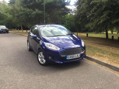 Ford Fiesta 1.0 EcoBoost Zetec 5dr REAR SENSORS - £0 ROAD TAX