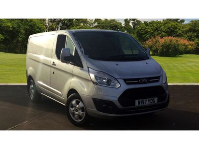 Ford Transit Custom 290 Swb Diesel Fwd 2.0 Tdci 130Ps Low Roof Limited Van Low Mileage Air Con