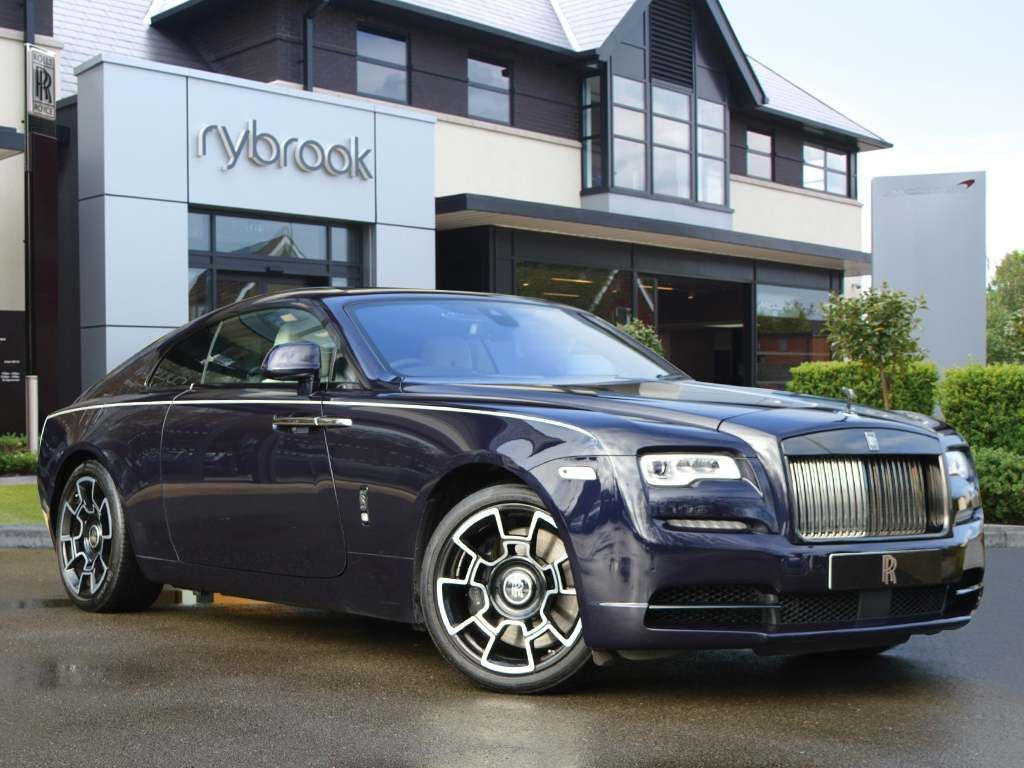 Rolls-Royce Wraith 6.6 V12 Black Badge Auto 2dr