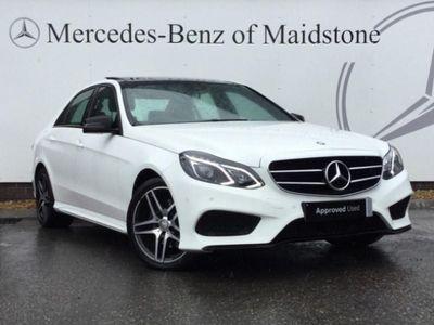 Mercedes-Benz E Class E220 BlueTEC AMG Night Ed Premium 4dr 7G-Tronic 2.2 *PAN ROOF*SATNAV*MEMORY SEATS*