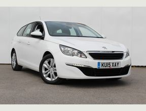 Manual Peugeot Estate used cars for sale on Auto Trader UK
