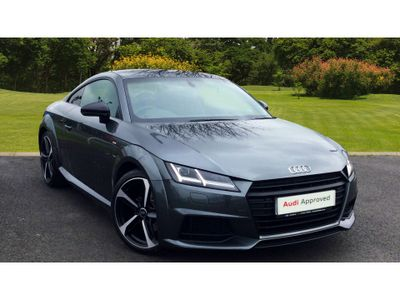 Audi TT 2.0 Tdi Ultra S Line 2Dr Diesel Coupe BLACK EDITION-SAT NAV-DEMO