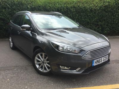 Ford Focus 1.6 125 Titanium Powershift Auto 5dr SAT NAV - HEATED FRONT SCREEN
