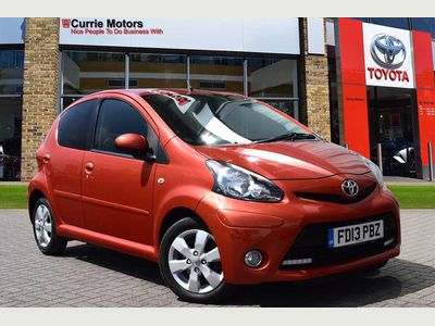 Toyota Aygo 1.0 VVT-i Fire 5-Dr 5dr ANNUAL ROAD TAX IS £0