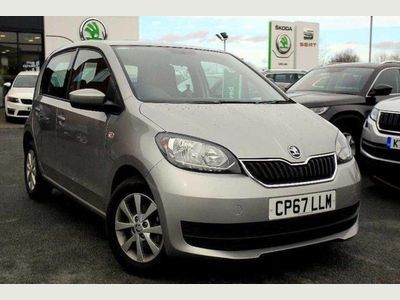 Skoda Citigo Hatchback 5-Dr 1.0 MPI (60PS) SE 5dr Very Low Road Tax / Insurance!