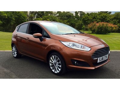 Ford Fiesta 1.0 Ecoboost Titanium X 5Dr Petrol Hatchback Titanium X!!!