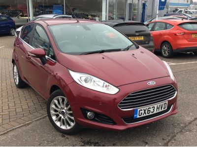 Ford Fiesta 1.0 EcoBoost Titanium X 5dr FULL LEATHER INTERIOR - HEATED