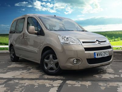 Citroen Berlingo MULTISPACE E-HDI VTR Cruise Control, Paddle Gear Shift, FM Radio, CD Player, Electric Windows, Central Locking, Child Lock, Rear Sliding Doors, ISOFIX 1.6 5dr *Just Arrived*