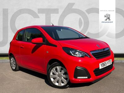 Peugeot 108 ACTIVE 1.0 3dr £0 TAX! FULL SERVICE HISTORY!