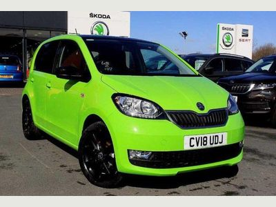 Skoda Citigo Hatchback 5-Dr 1.0 MPI (60PS) Colour Edition 5dr DAB Radio!