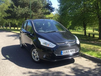 Ford B-Max 1.0 EcoBoost Zetec 5dr 12 MONTH WARRANTY & BREAKDOWN