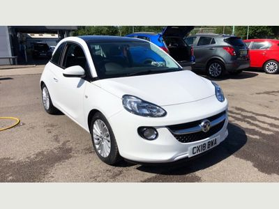 Vauxhall Adam Hat 1.2 70ps Glam 3dr PRE REG GLASS ROOF