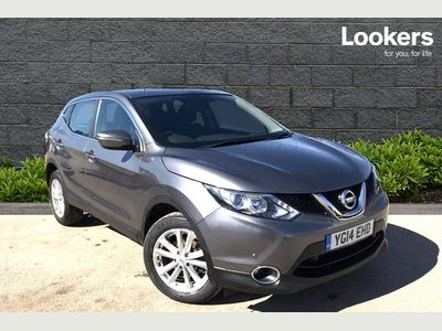 Nissan Qashqai 1.2 DiG-T Acenta (Smart Vision Pack) 5dr Front and Rear Sensors