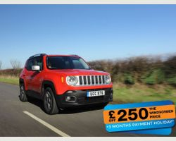 Jeep Renegade 1.6 Multijet 120hp Longitude 5dr