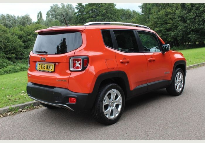Used Jeep Renegade Petrol Orange 5dr 2016 For Sale In