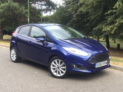 Ford Fiesta 1.0 EcoBoost 125 Titanium 5dr KEYLESS ENTRY AND START - AUTO