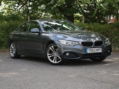 BMW 4 Series 420d Sport Coupe 2.0 2dr Heated Front Seats